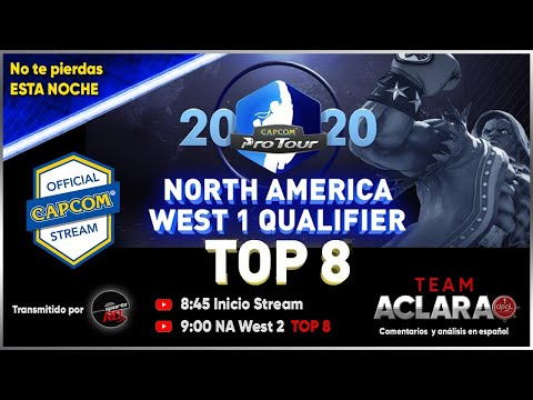 CPT 2020 ONLINE North America West #2   TOP 8 | Street Fighter V: Champion Edition