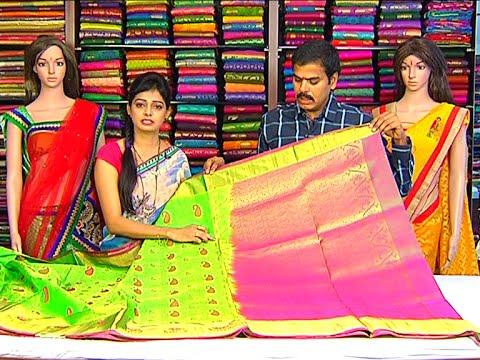 Latest Collection of Pattu  Designer and Fancy Sarees | Sogasu Chuda Tarama | Vanitha TV 01 October 2015 04 08 PM