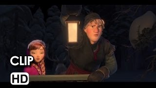 Frozen Movie CLIP - Wolf Chase (2013) - Kristen Bell Disney Princess Movie HD
