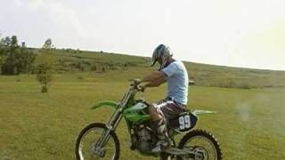 8. 2001 KX250 DIRTBIKE --- kx 250 2 stroke MONSTER ENERGY DIRT BIKE