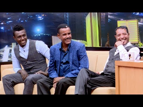 Seifu on EBS with Abebe Melese, Aregahegn Werash and Sami