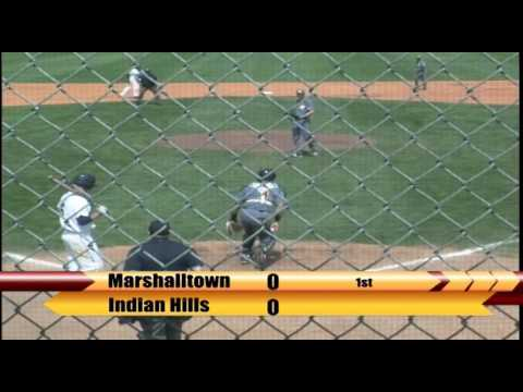 Video Replay: Marshalltown Baseball vs. Indian Hills (5/8/2016) Game 2