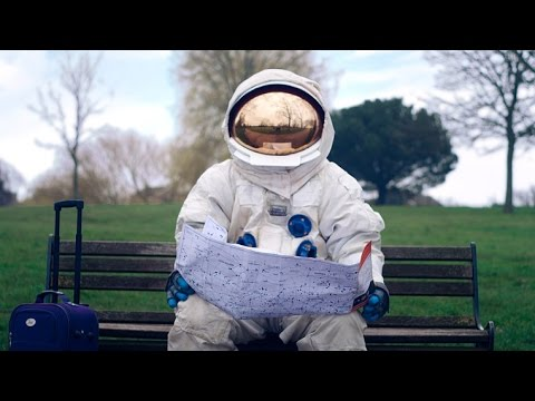 A Homeless Astronaut Tries To Reach The Moon In Absurd