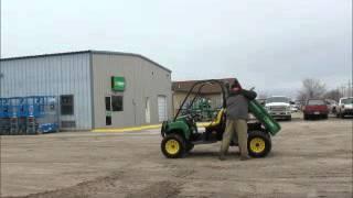 9. For Sale 2008 John Deere 850D Gator 4x4 Diesel ATV UTV Utility Dump bidadoo.com