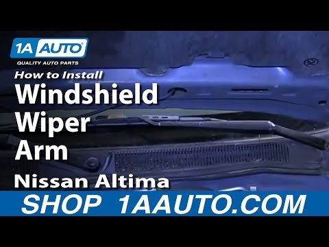 How To Install Replace Windshield Wiper Arm 1998-01 Nissan Altima