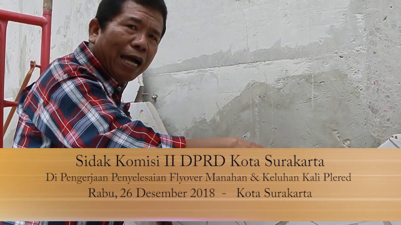 Rabu 26 Desember 2018 Sidak Komisi II Manahan