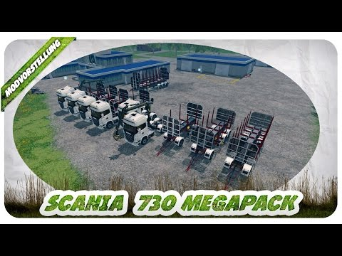 Scania 730 and Trailers v1.1