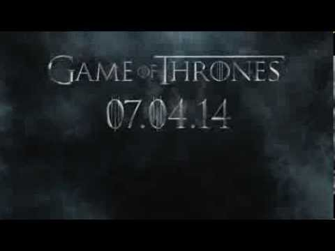 Game of Thrones Season 4 Trailer - Jamie N Commons 'Immigrant Song'