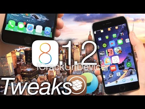 Top 8 Best iOS 8 Cydia Tweaks: iOS 8.1.2 Jailbreak TaiG Compatible - iPhone 6 Plus, iPad and More