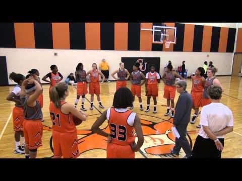 Women's Basketball First Practice