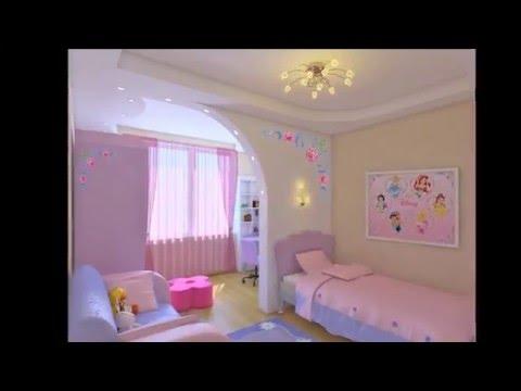 Как сделать интерьер комнаты для девочки