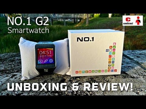 NO.1 G2 Smartwatch – [Unboxing, Review & Giveaway!] – Samsung Gear 2 Clone 1:1 – Coolicool.com