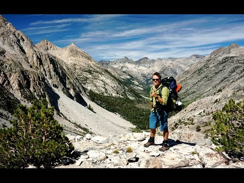 Surviving the John Muir Trail, northbound (2014) - A 240 mile, 20 day solo adventure across the high Sierra wilderness.