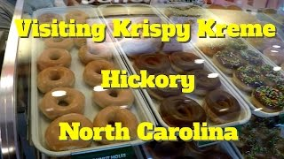Hickory (NC) United States  City pictures : Visiting Krispy Kreme in Hickory North carolina USA