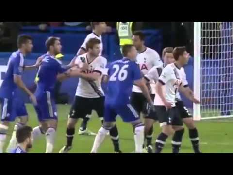 All Goals  Chelsea Vs Tottenham Hotspur 2 -  2     *2 5 2016HD