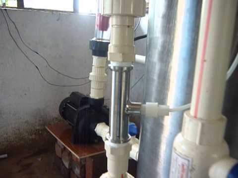 Ozone installation in poultry