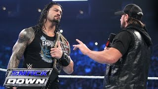 Nonton Roman Reigns Und Aj Styles Face To Face  Smackdown  7  April 2016 Film Subtitle Indonesia Streaming Movie Download