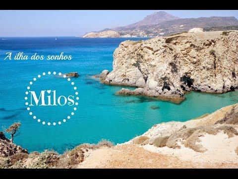 Vlog - Viagem para Grécia - Ilha de Milos