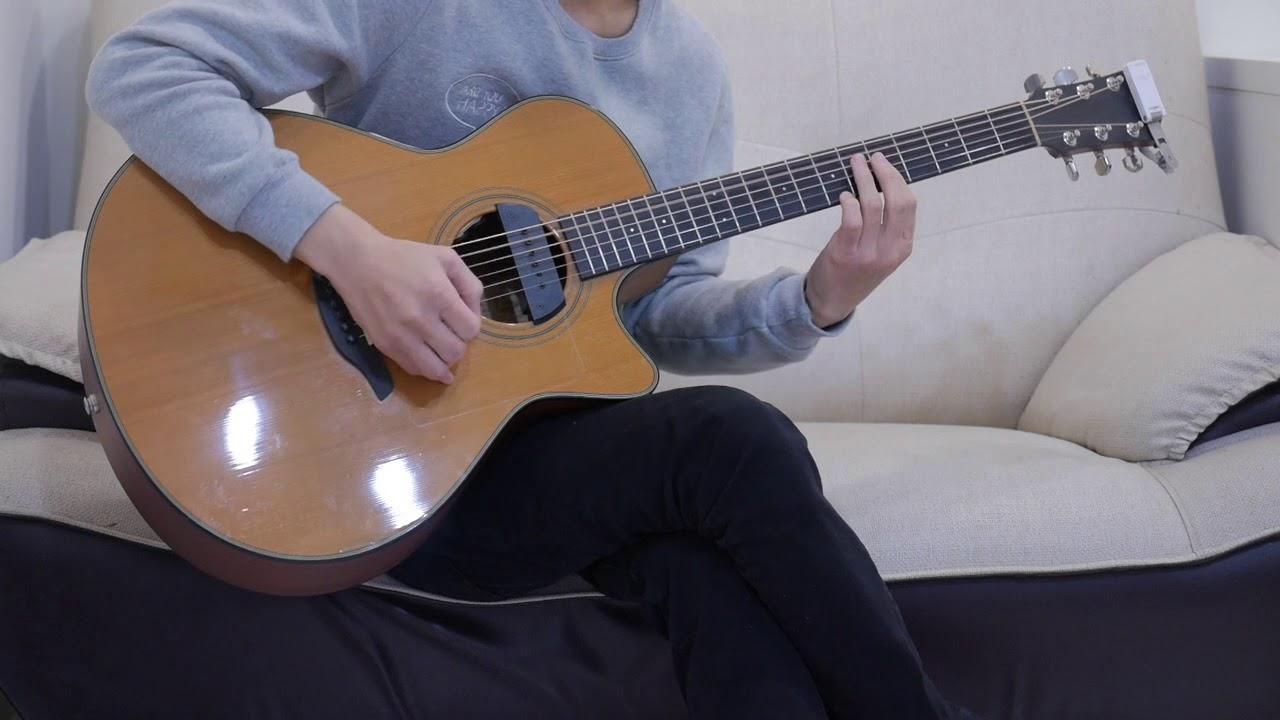 莊心妍 – 走著走著就散了(acoustic guitar solo)