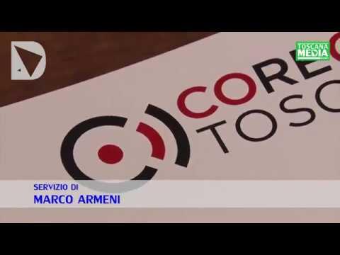 SERVIZIO - IL NUOVO LOGO DEL CORECOM TOSCANA, PREMIO COMUNICATORE DELL'ANNO A ELENA FAVILLI