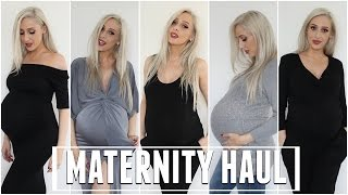 Watch my maternity haul for all the pregnancy and non-pregnancy related outfits that I'm currently wearing at 37 weeks.
