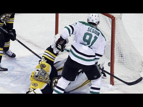 Video: Seguin shows off slick hands, out waits three Bruins for OT goal