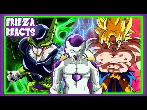 Chipart - FRIEZA REACTS TO PERFECT CELL VS GOKU (CELL VS CHI-CHI PART 2)