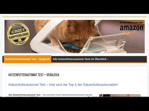 Katzenfutterautomat Test -Tests und Erfahrungen