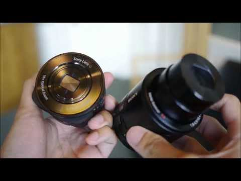 Sony Cyber-shot DSC QX10 and DSC QX100 hands on