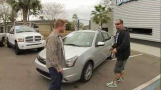 Autoline's 2010 Ford Focus SES Walk Around Review Test Drive