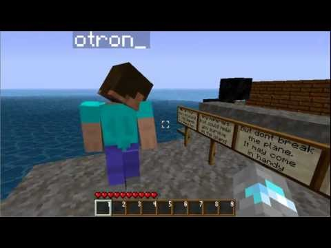 Minecraft Plane Crash Island Episode 1 Part 1