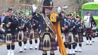 The pipes were playin' and Irish eyes were all smiles as the 34th Annual Hilton Head Island St. Patrick's Day Parade rolled down Pope Avenue on March 12, 2017.