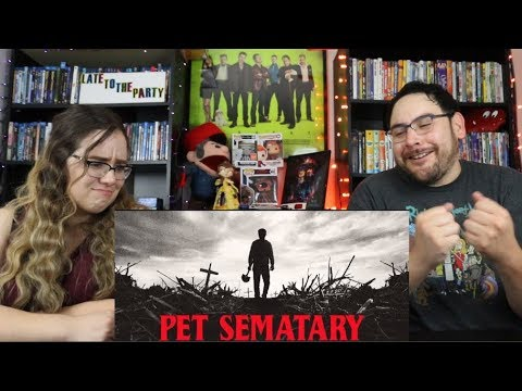 Pet Sematary 2019 - Official Trailer Reaction / Review