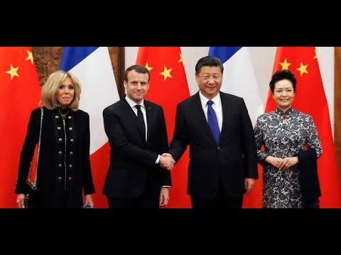 China-Reise: Macron offeriert europäisch-chinesisch ...