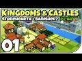 Kingdoms And Castles 01 Jogo Incr vel Stonehearth Banis