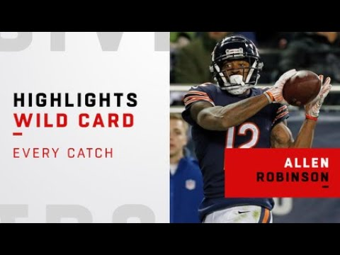 Every Allen Robinson catch from Bears playoff debut | NFC Wild Card Weekend
