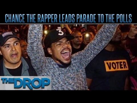 Chance the Rapper Gets Thousands to Vote After Free Concert - The Drop Presented by ADD