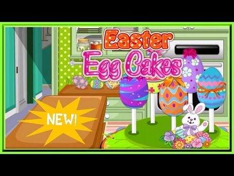 Learn Cooking With EASTER Egg Cakes Video Episode Great Easter Holiday Games Online