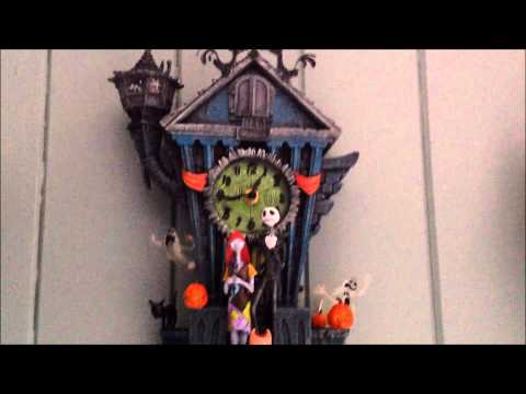 the nightmare before christmas cuckoo clock demonstration review