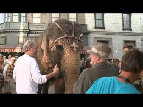 Water for Elephants Behind the Scenes Footage (B Roll)