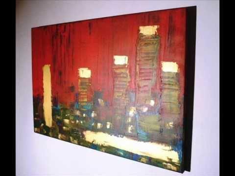 Quadri moderni astratti astratto moderno sanader art for Tele dipinte a mano moderne