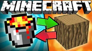Video If Lava and Wood Switched Places - Minecraft MP3, 3GP, MP4, WEBM, AVI, FLV Januari 2019