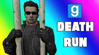 Gmod Deathrun Funny Moments - Escaping Prison! (Garry's Mod Sandbox)