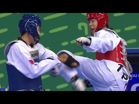 العرب اليوم - شاهد: كواليس بطولة التايكوندو في دورة الألعاب الآسيوية