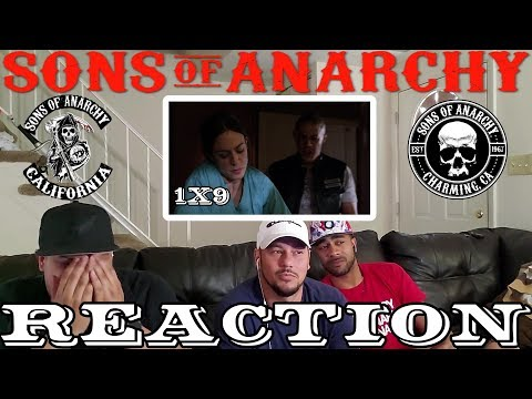 """SONS OF ANARCHY SEASON 1 EPISODE 9 REACTION """"HELL FOLLOWED"""""""