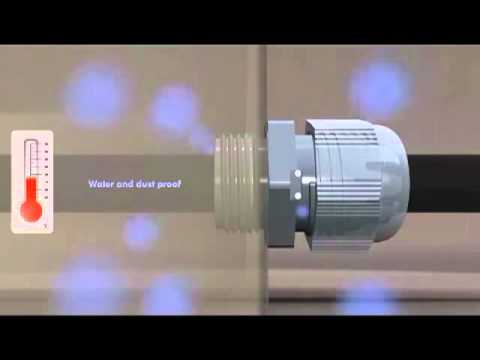 Bloccacavi PG con valvola osmotica integrata