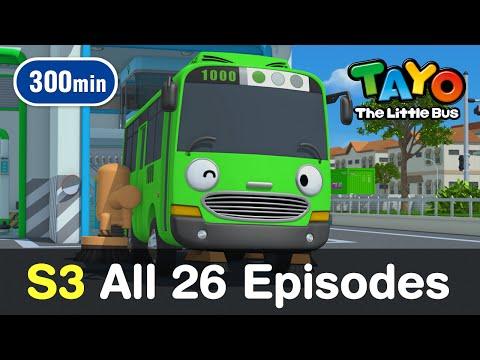 [Tayo S3] All 26 Full Episodes of Season 3 (300 mins)