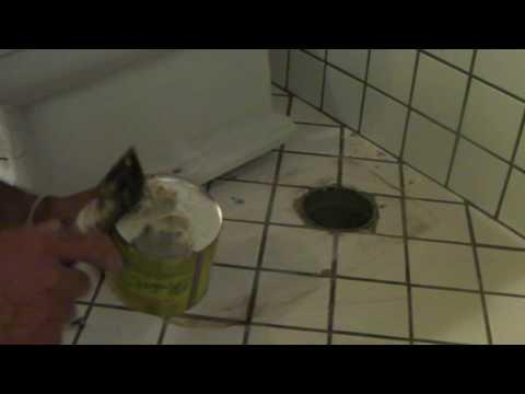 Come fissare il vaso WC al pavimento con tassello chimico