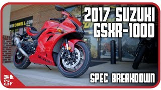 3. 2017 Suzuki GSXR-1000 Spec Breakdown | First Look