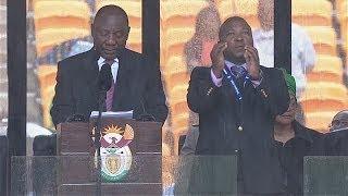 Mandela memorial: Sign language interpreter branded a 'fake' by deaf community in South Africa